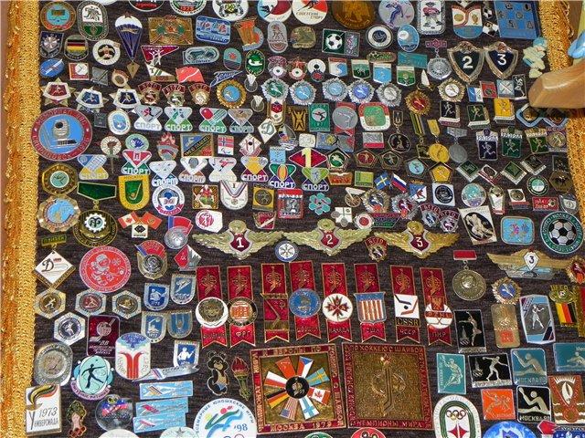 Коллекция значков, которые собирали дети СССР
